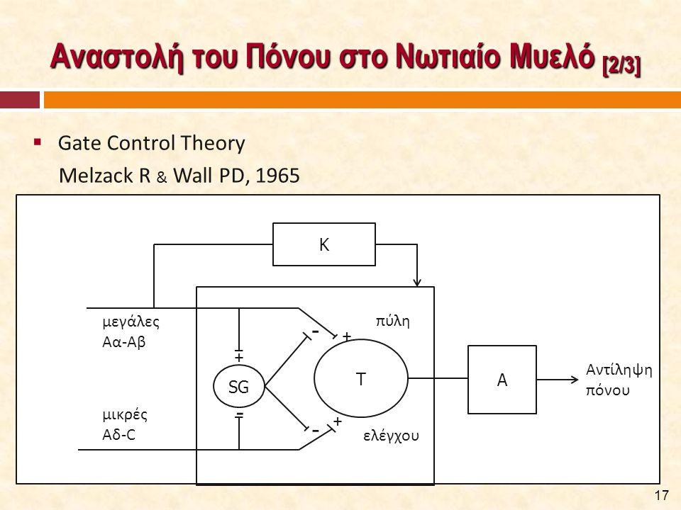 Διαδερμικός Ηλεκτρικός Νευρικός Ερεθισμός - ΤΕΝΣ [1/2]